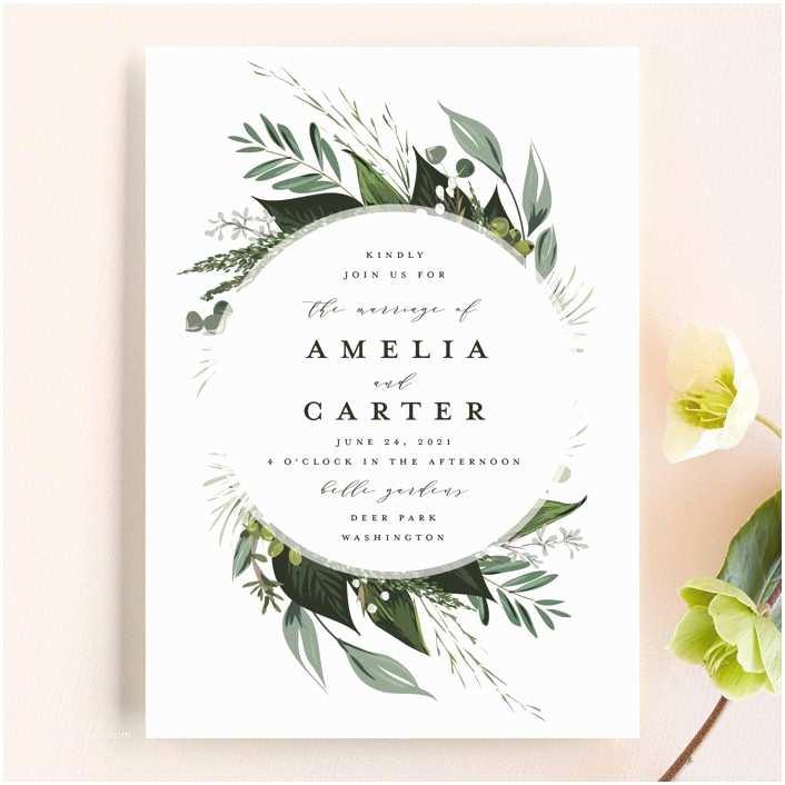 Wedding Invitation Announcement Wording Wedding Invitation Wording formal Modern & Fun