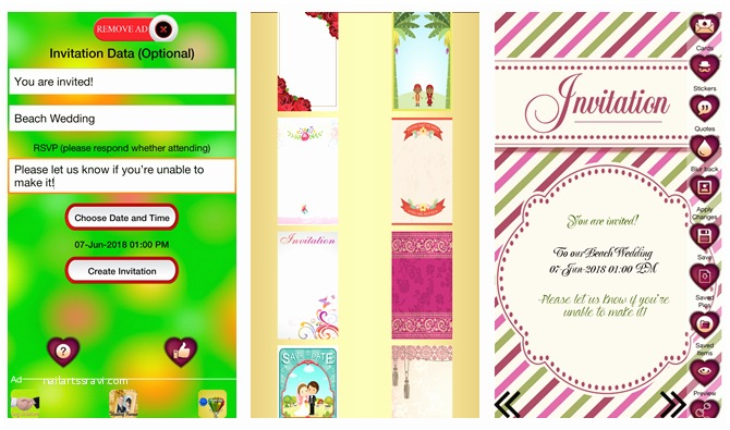 Wedding Invitation App For Android 6 Digital Wedding Invitation Apps To Save Money And