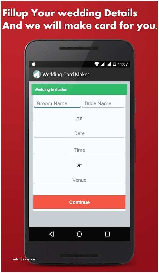 Wedding Invitation App for android Invitation Maker App for