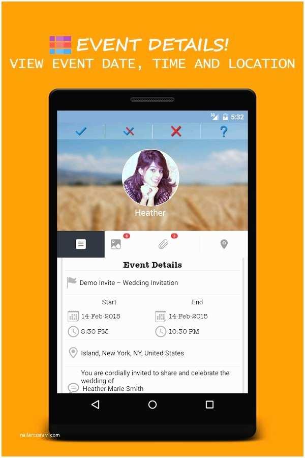 Wedding Invitation App for android Invitation Maker App for android Invitation