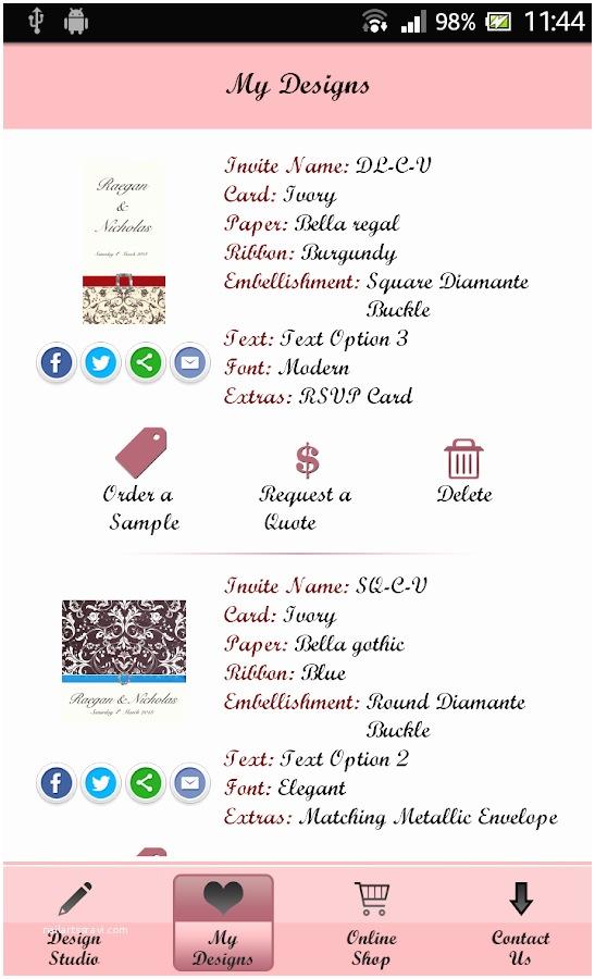 Wedding Invitation App  Android Printable Wedding Invitations App Yaseen