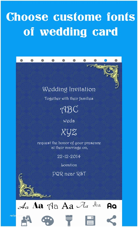 Wedding Invitation App for android Wedding Card Maker android Apps On Google Play
