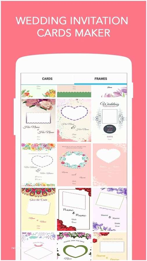 Wedding Invitation App For Android Wedding Invitation Cards Maker Android Apps On Google
