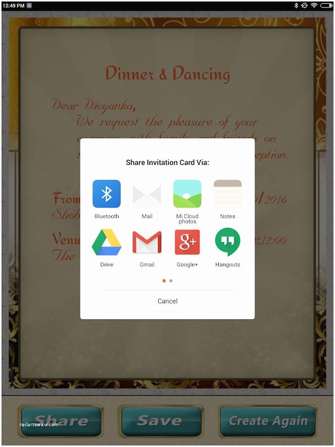 Wedding Invitation App For  Wedding Invitation Cards Maker Marriage Card App