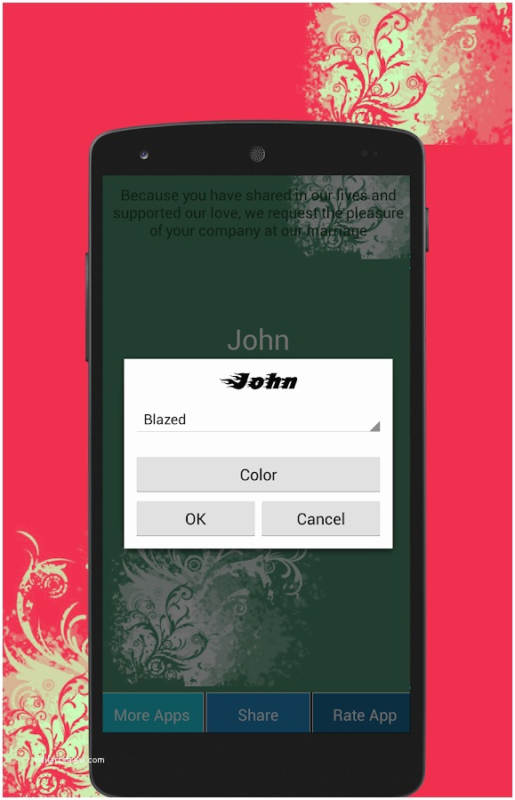 Wedding Invitation App For Android Wedding Invitation Maker Android Apps On Google