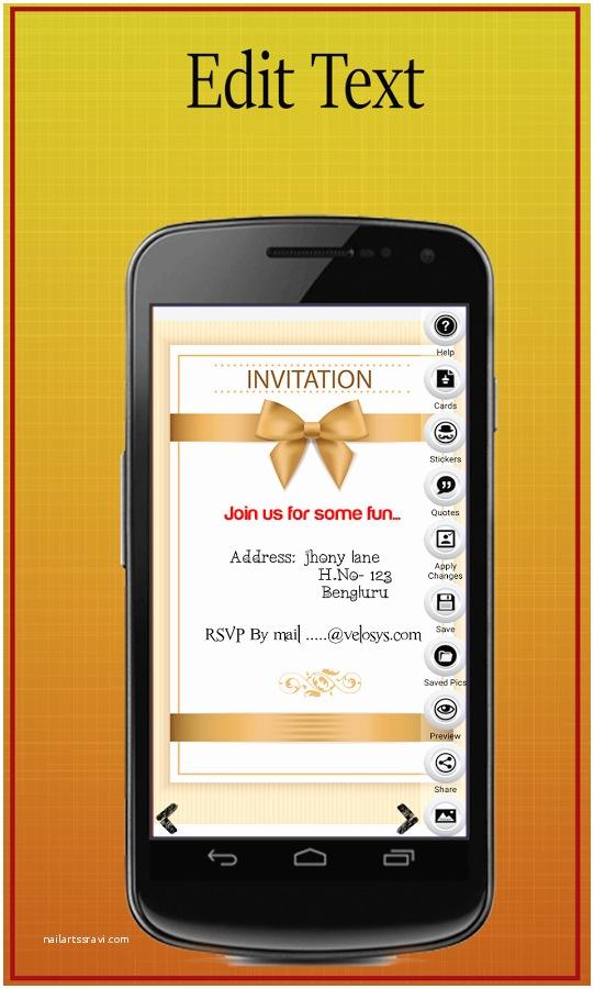 Wedding Invitation App for android 6 Digital Wedding Invitation Apps
