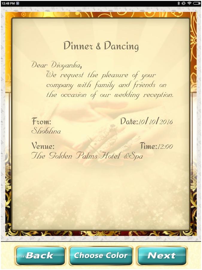 Wedding Invitation App Wedding Invitation Cards Maker Marriage Card App android