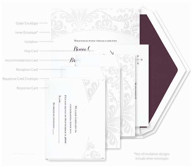 Wedding Invitation assembly How to Properly assemble Wedding Invitations