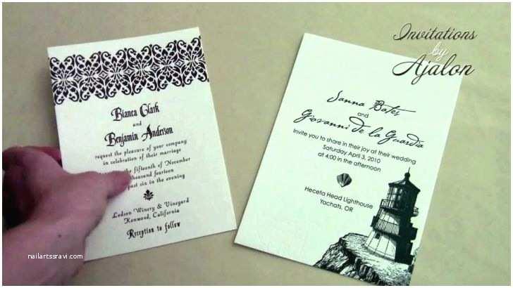 wedding invitation assembly ideas