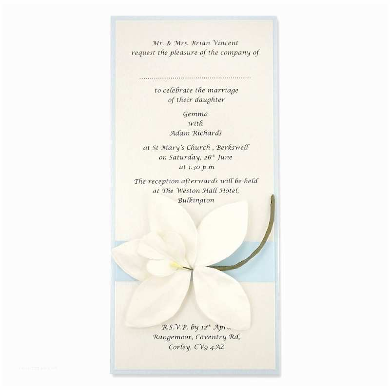 Wedding  Assembly Orchid Long Layer