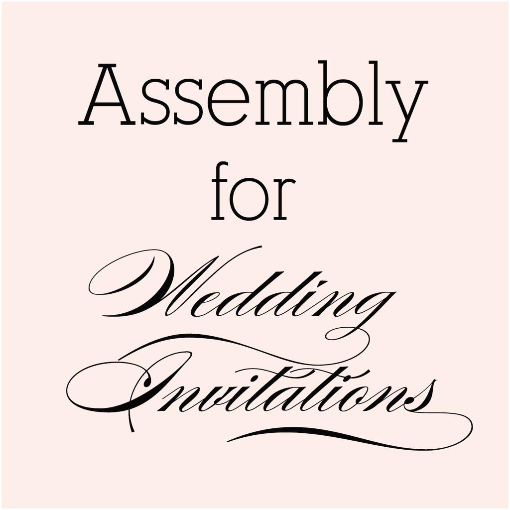 Invitation Assembly Popular  Invitation Blog Order Of
