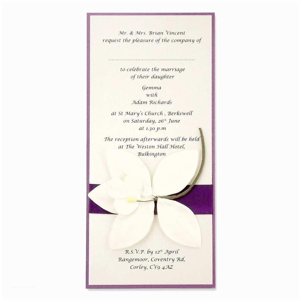 Wedding Invitation Assembly Self Assembly Layered Square Satin Ribbon More