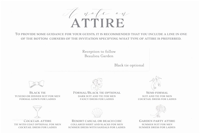 Wedding Invitation attire Wording How to Word Your Wedding Invitations Guest Blog by