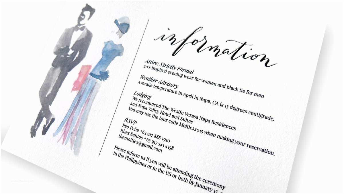 Wedding Invitation attire Wording Invitation Sample Dress Code Choice Image Invitation