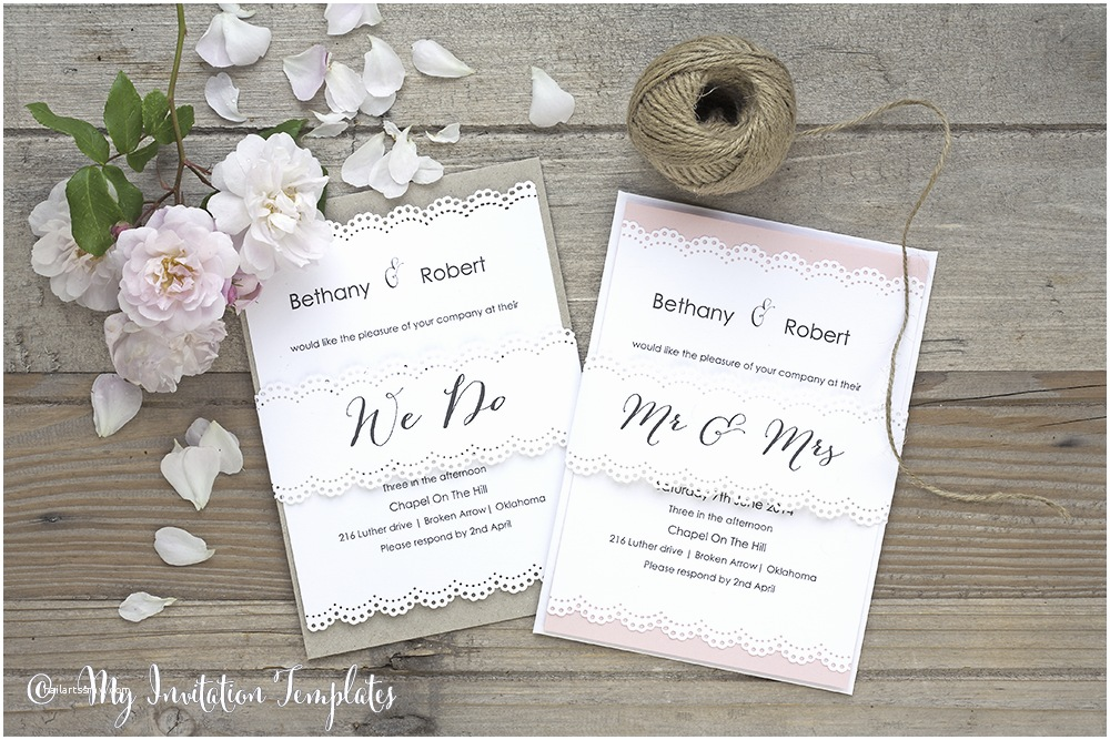 Wedding Invitation Bands Diy Wedding Invitations with A Belly Band Make Your Own