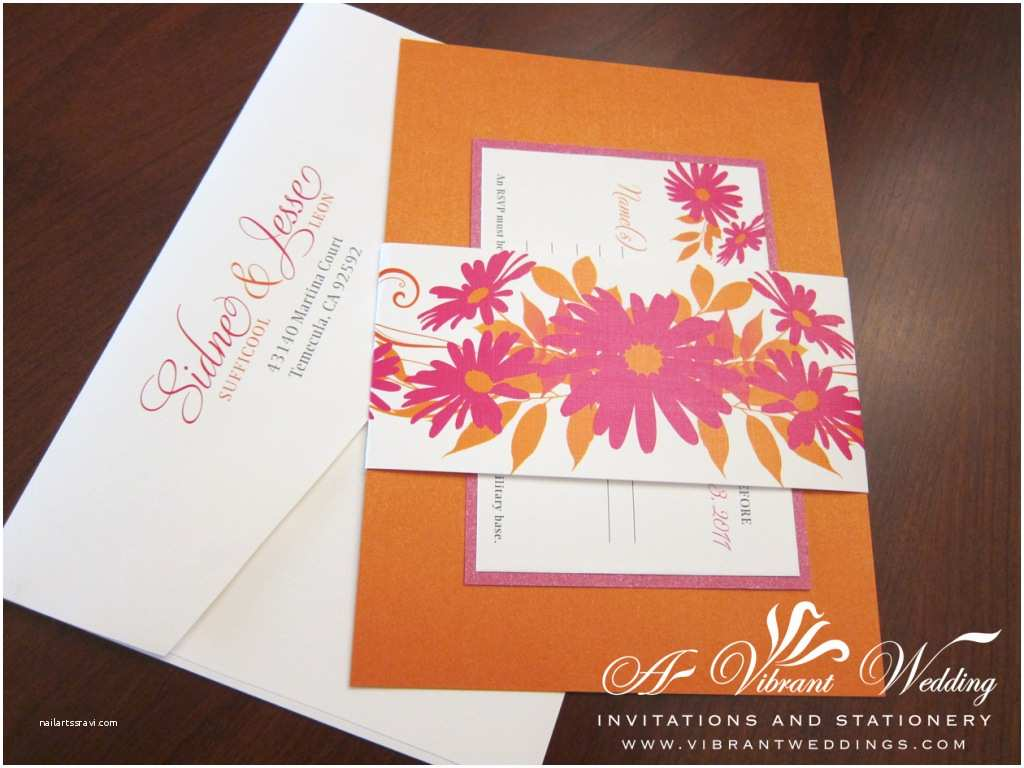 Wedding Invitation Belly Band Belly Band Invitations