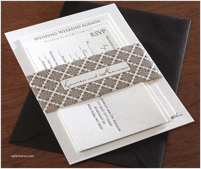 Wedding Invitation Belly Band Belly Bands for Wedding Invitation Designs