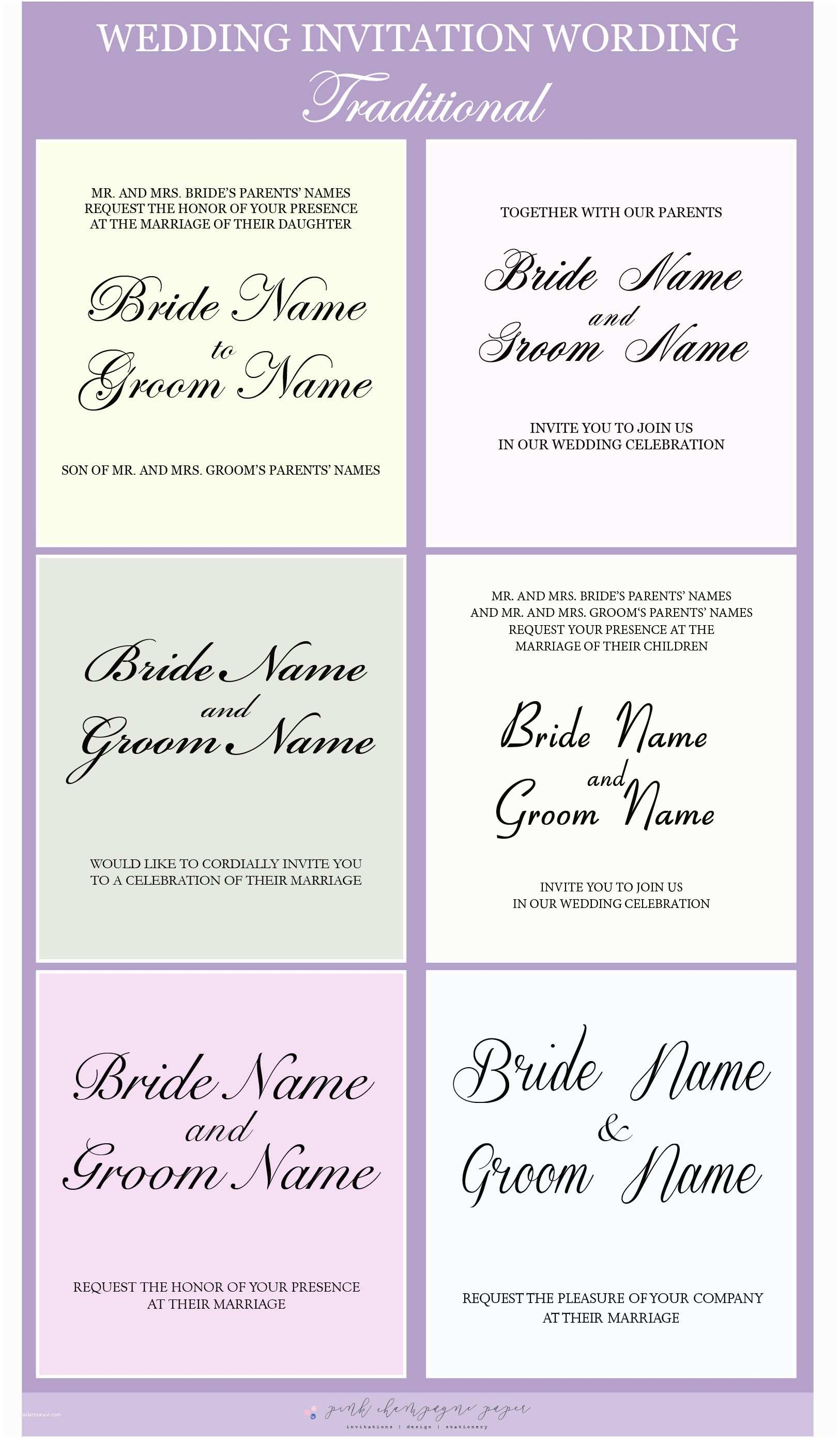 Wedding Invitation Both Parents Wording Samples Advice Tips Etiquette Archives
