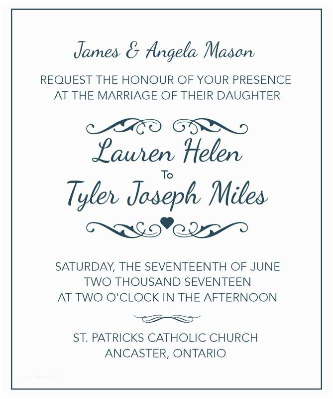 Wedding Invitation Both Parents Wording Samples Wedding Invitation Tips & Wording Samples Wedding Tips