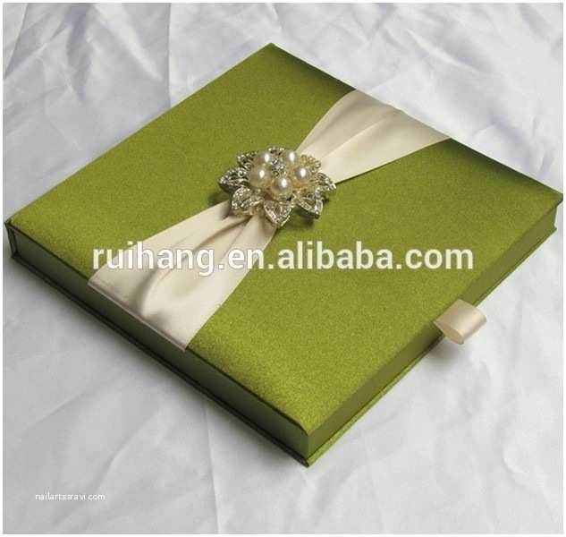 Wedding Invitation Boxes Cheap Silk Box Wedding Invitations Cobypic