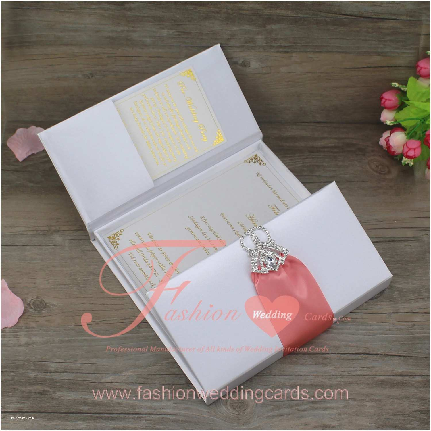 Wedding Invitation Boxes Cheap Silk Boxes for Invitations wholesale