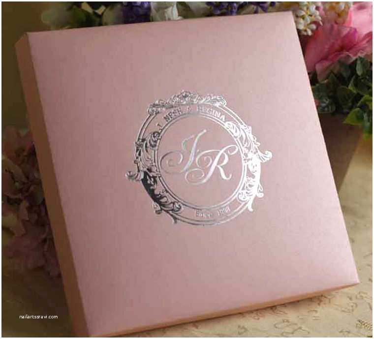 Wedding Invitation Boxes Cheap Silk Wedding Invitation Boxes wholesale