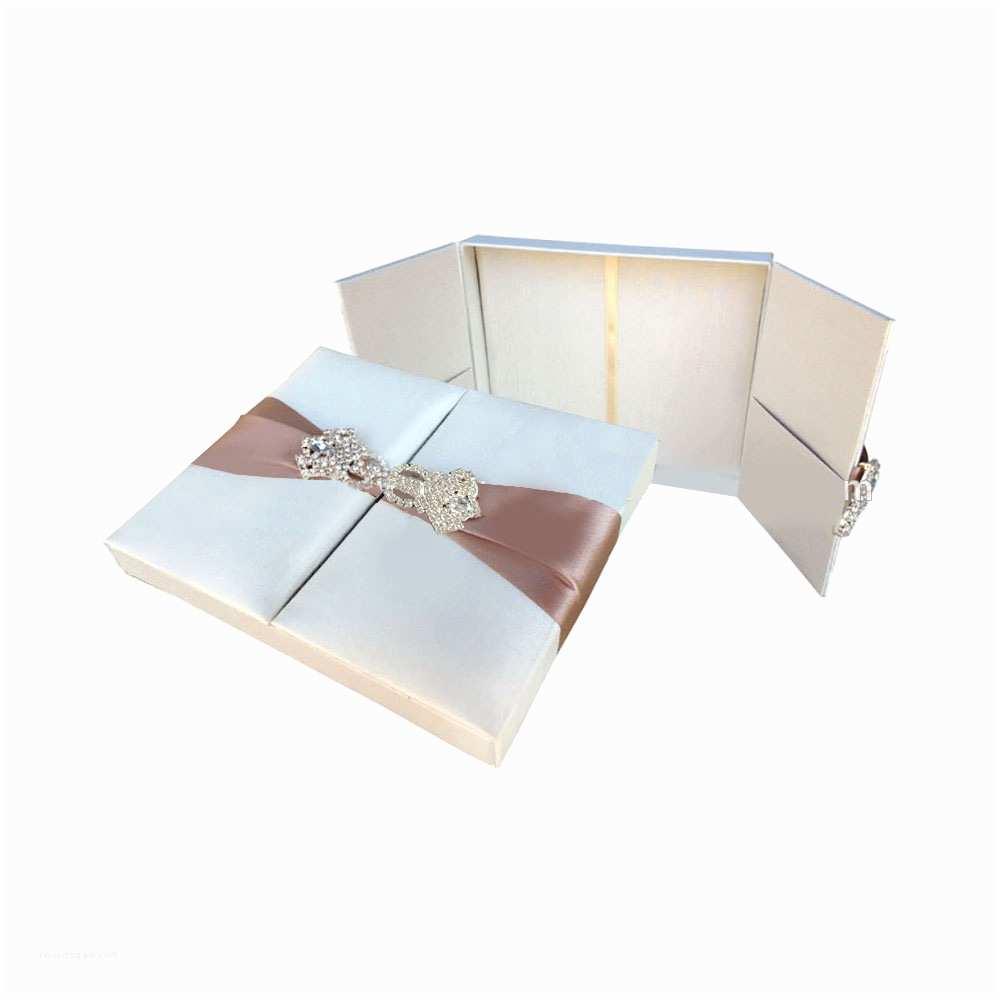 Wedding Invitation Boxes Cheap Wedding Box wholesale Luxury Embellished Silk