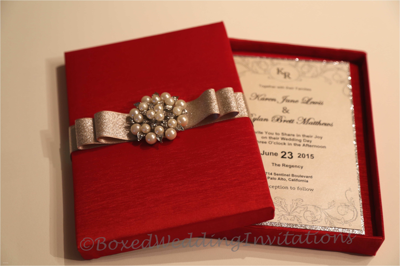 Wedding Invitation Boxes Inspirational Boxed Wedding Invitations