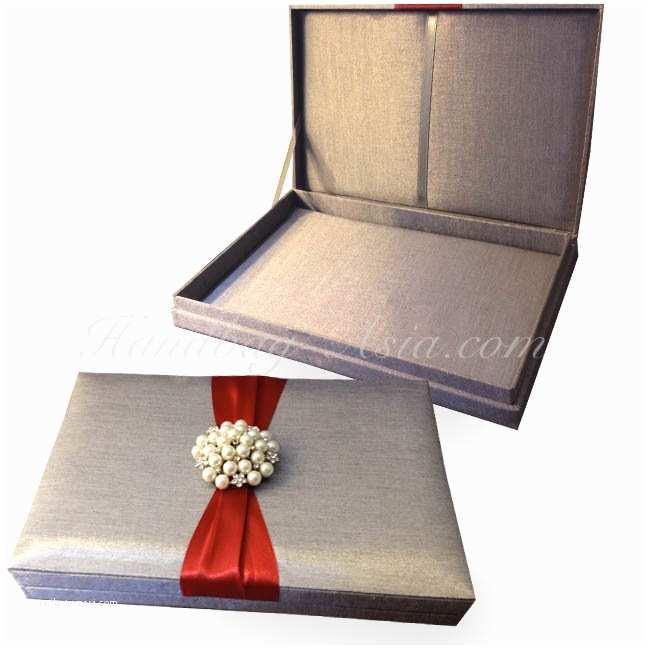 Wedding Invitation Boxes Silk