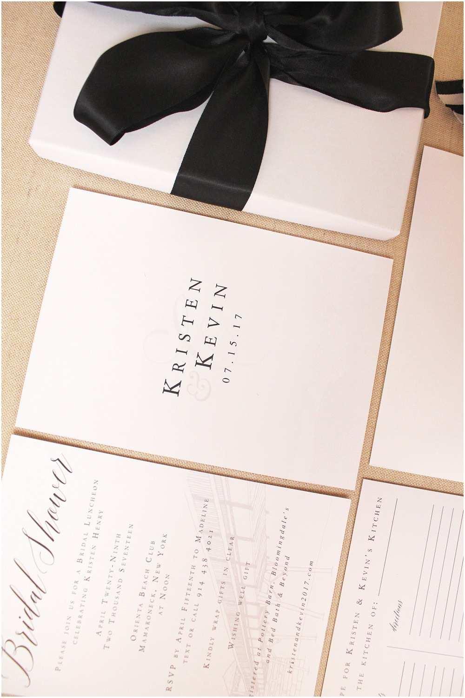 wedding invitation brands custom bridal shower invitation suite for an orienta beach