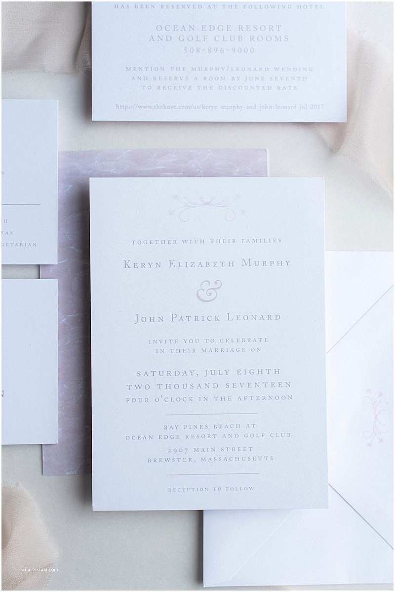 Wedding Invitation Brands Custom Wedding Brand and Logo for Summer Massachusetts