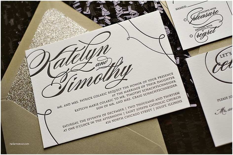 Wedding Invitation Brands Real Wedding Katelyn and Timothy