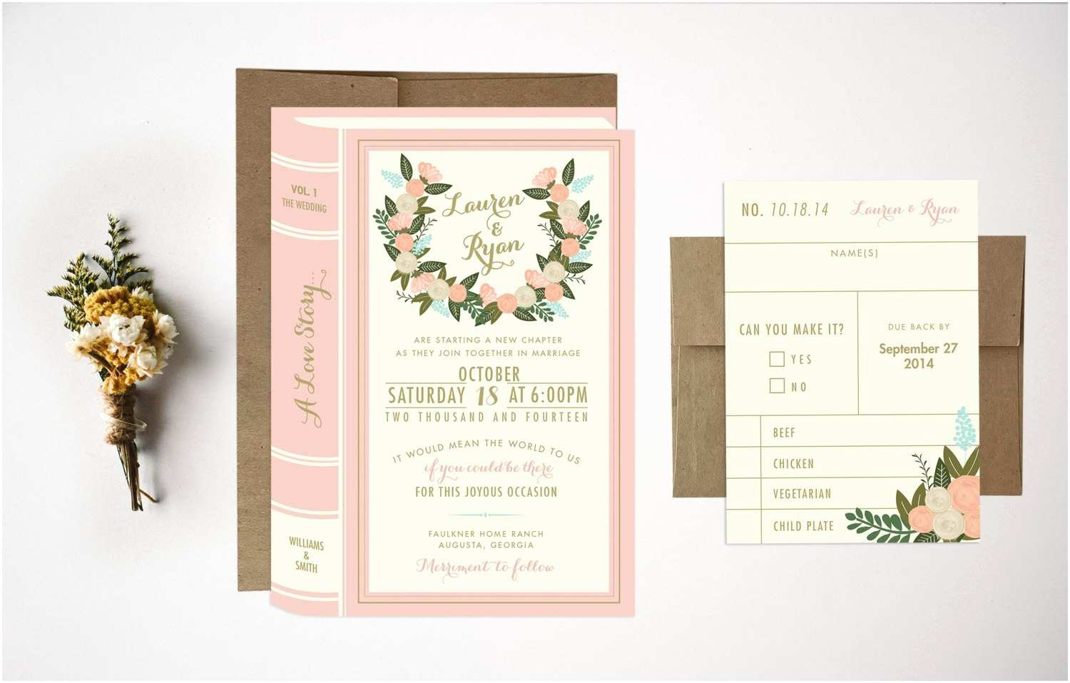 Wedding Invitation Bundles Wedding Invitation Bundle Library Wedding Invitations