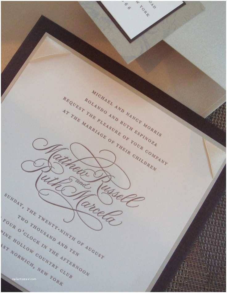Wedding Invitation Calligraphy 17 Best Images About Calligraphy Invitation On