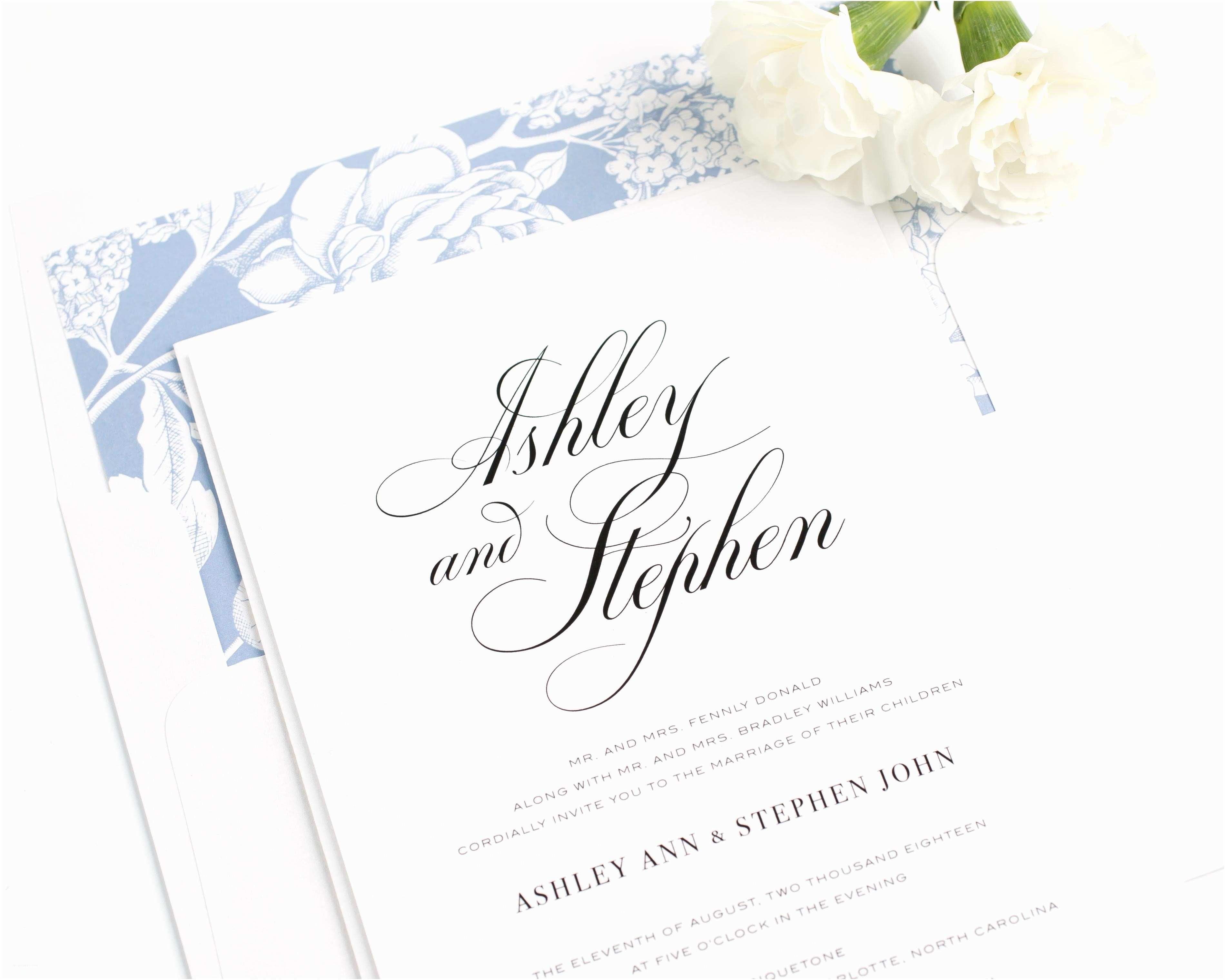 Wedding Invitation Calligraphy 2016 Wedding  By Shine Wedding