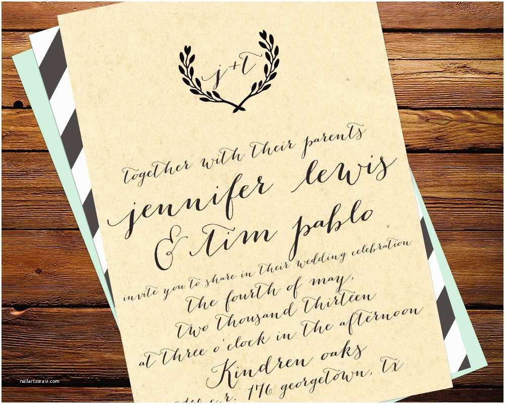 Wedding Invitation Calligraphy Best Album Calligraphy Wedding Invitations