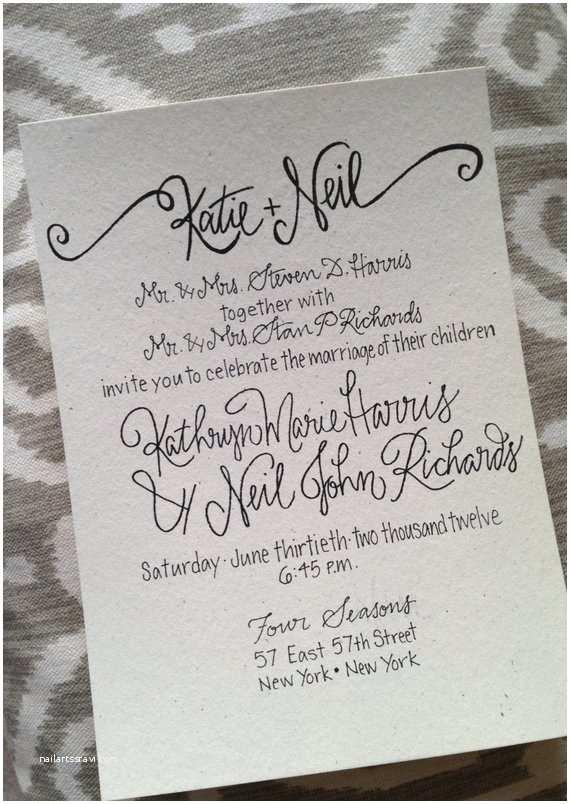 Wedding Invitation Calligraphy Calligraphy Wedding Invitation Calligraphy Wedding
