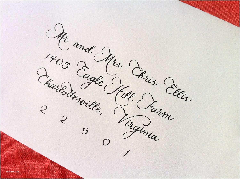 custom wedding invitation calligraphy