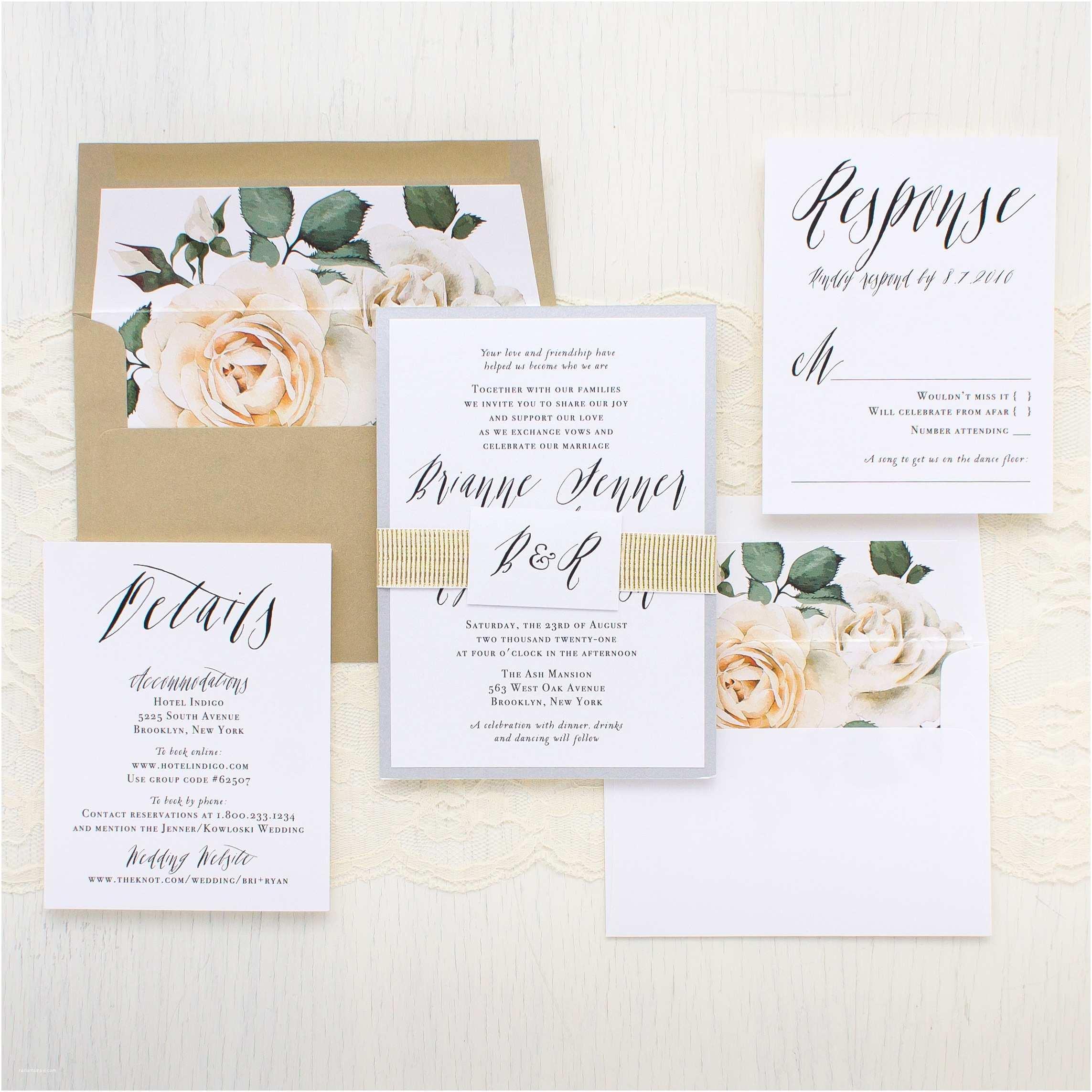 Wedding Invitation Calligraphy Modern Calligraphy Customizable Wedding