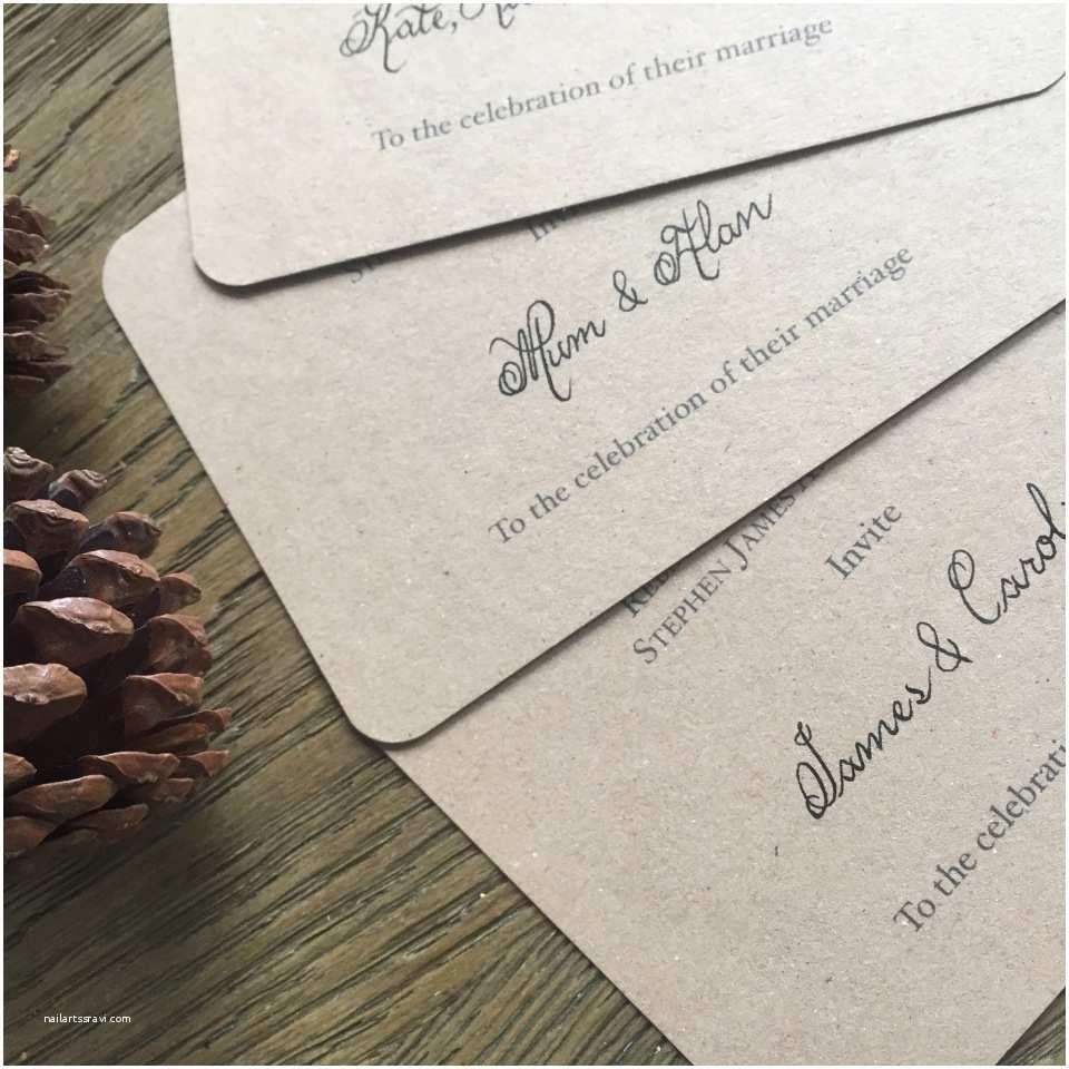 Wedding Invitation Calligraphy Wedding Invitation Calligraphy