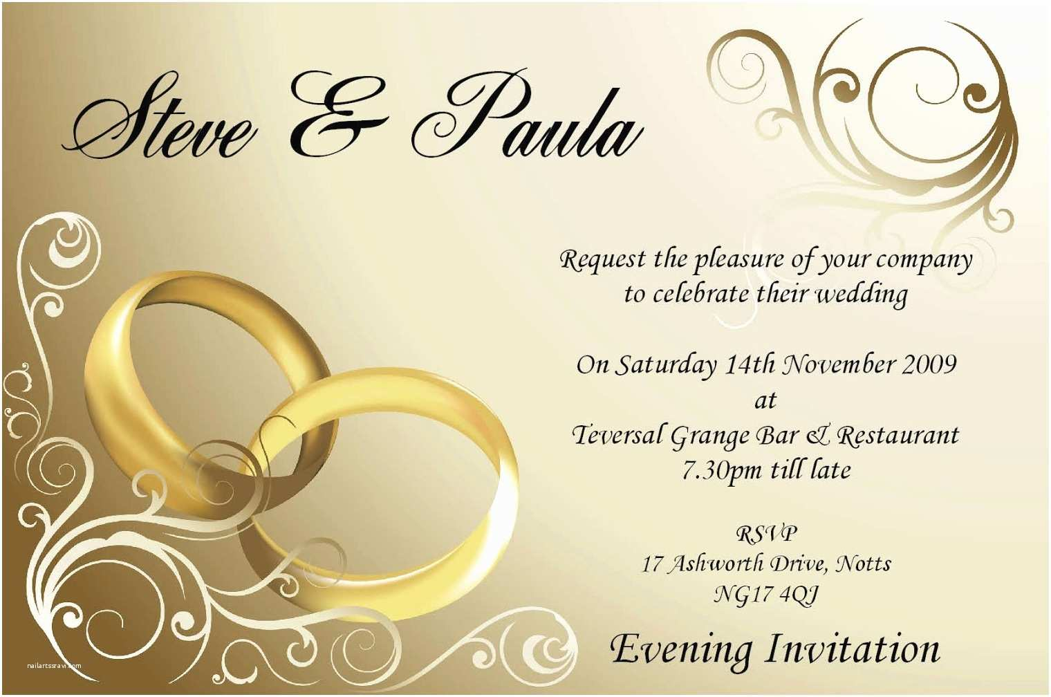 Wedding Invitation Card Ideas Wedding Day Quotes for Card Invitation