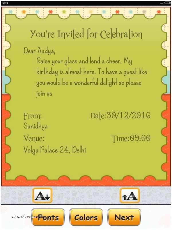 Wedding Invitation Card Maker Free Wedding Invitation softcardforbusiness