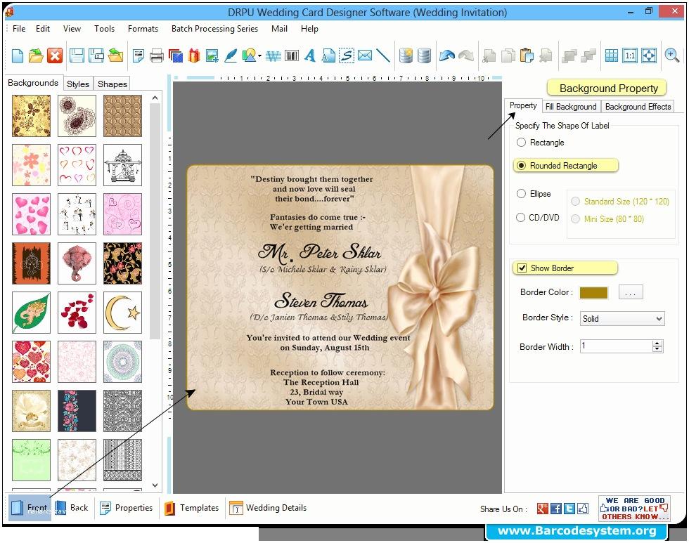 Wedding Invitation Card Maker Wedding Card Creator Maker software Design Invi and Free