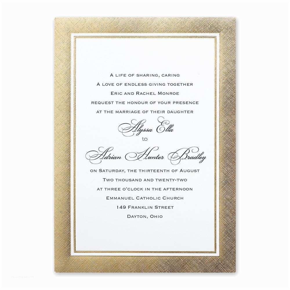 Wedding Invitation Card Online Shopping Golden Grandeur Invitation
