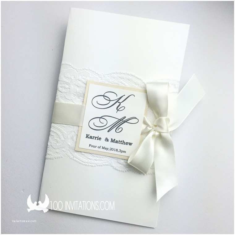 Wedding Invitation Card Online Shopping Line Shop Handmade Elegant Vertical Lace Wedding