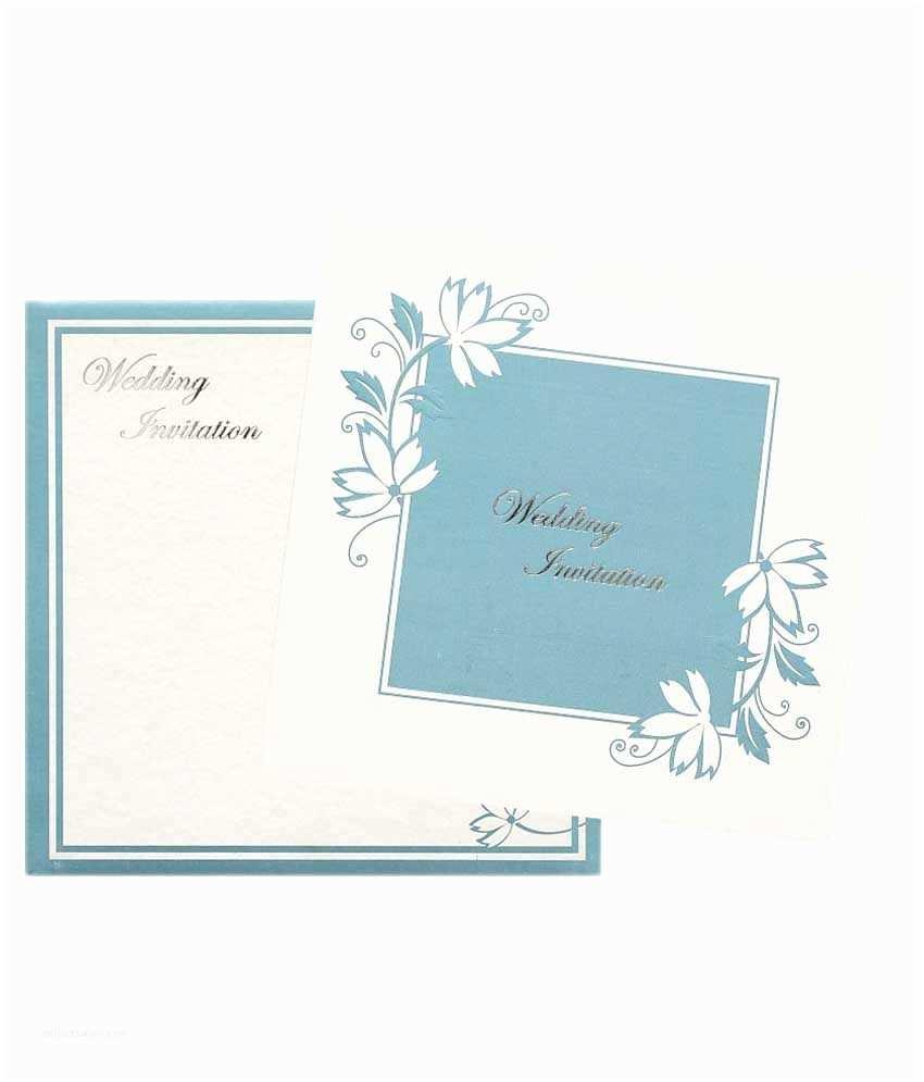 Wedding Invitation Card Online Shopping Nakoda Cards Elegant Wedding Invitation Card Pack 100