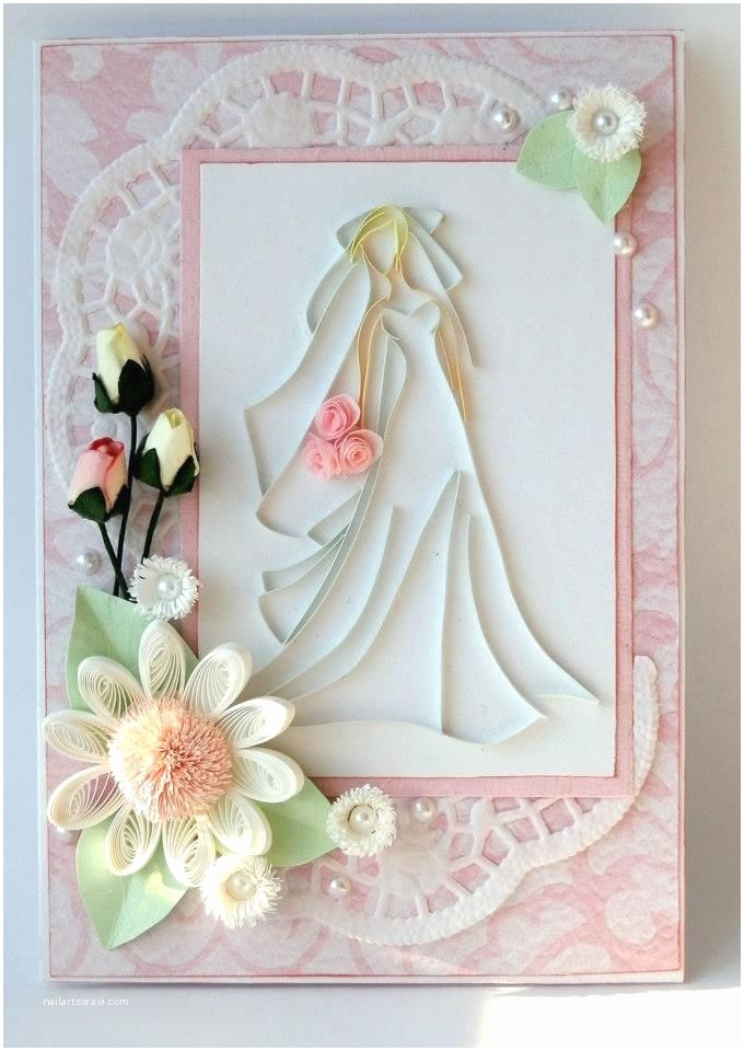 quilling handmade wedding invitation and greeting card collections