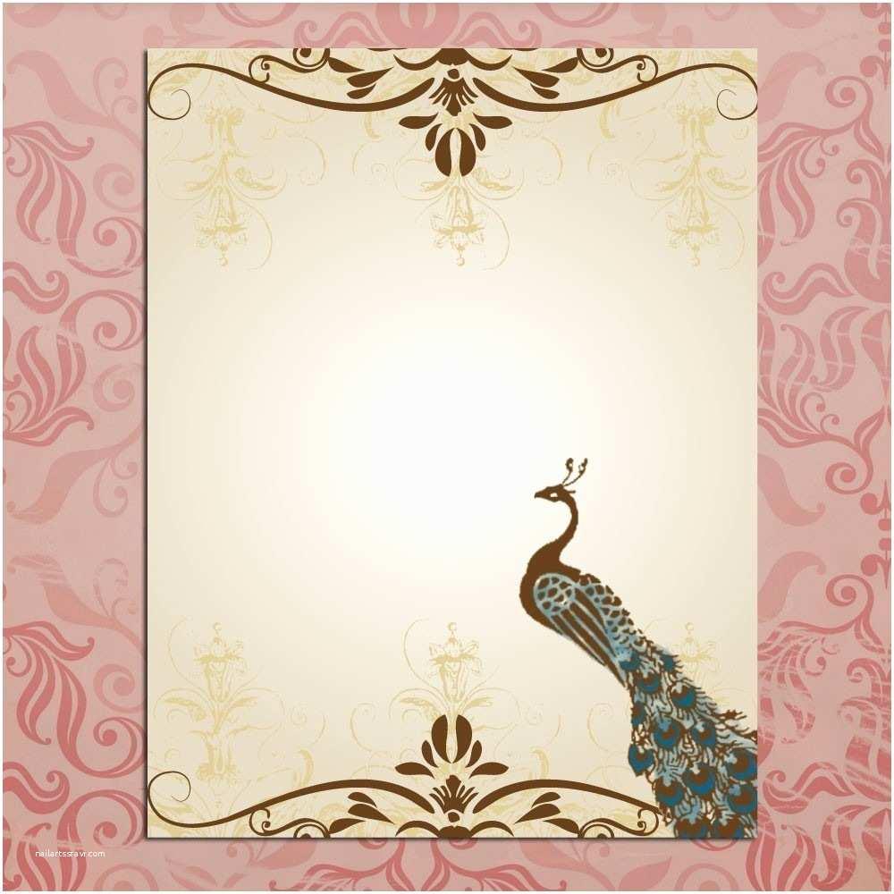 Wedding Invitation Card Template Blank Wedding Invitation Designs Templates