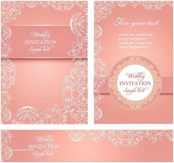 Wedding Invitation Card Template Editable Wedding Invitations Free Vector 3 767