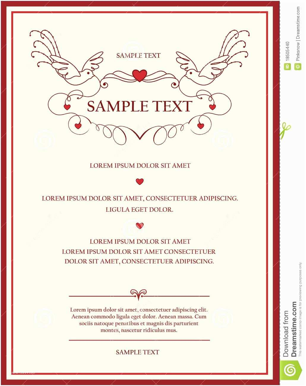 Wedding Invitation Card Template Background
